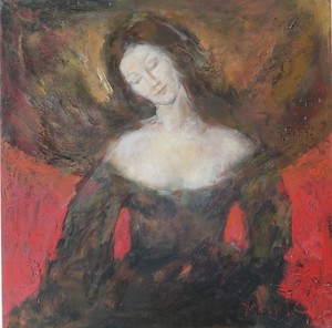 Ludmilla MOSHEK - Painting - Diana