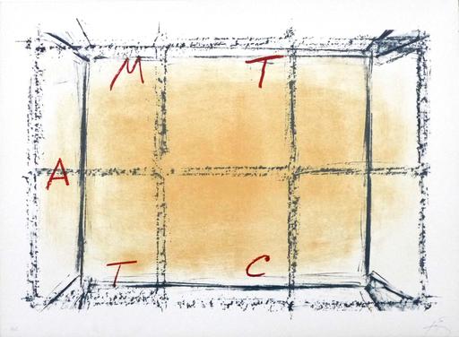 Antoni TAPIES - Stampa-Multiplo - LLambrec 18