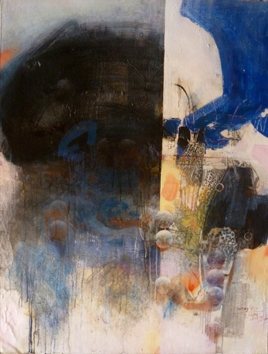 WANG Yancheng - Peinture - Bule Dream
