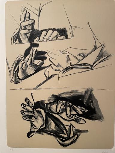 Renato GUTTUSO - Druckgrafik-Multiple - Mani