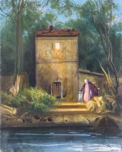 Silvestro PISTOLESI - Gemälde - La notte