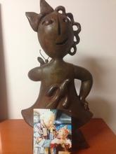 Juan GARCIA RIPOLLES - Sculpture-Volume - La niña de la mariposa