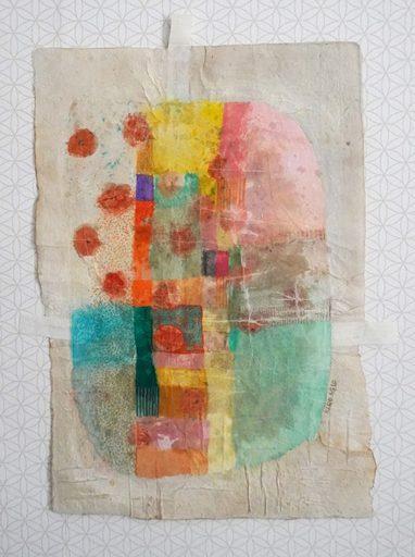 Marie LHOMET - Drawing-Watercolor - « Dots 5 »