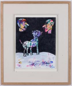 Antonio SEGUI - Drawing-Watercolor - Que es esto