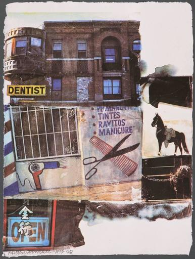 Robert RAUSCHENBERG - Stampa Multiplo - LA Uncovered #10