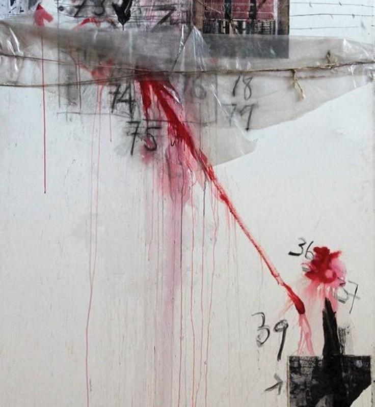 José BALMES - Peinture - Dos exilios