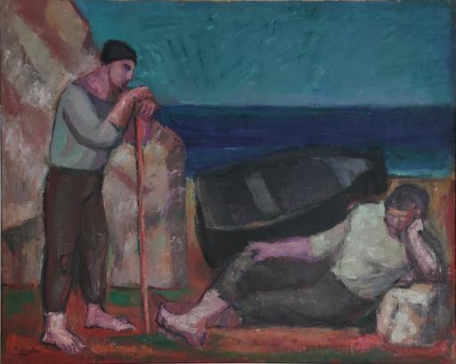 Michele DE PALMA - Painting - I pescatori vanno per le vie del mare