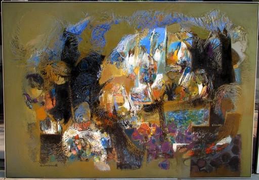 Christian SCHMIDT - Painting - Le marché arabe