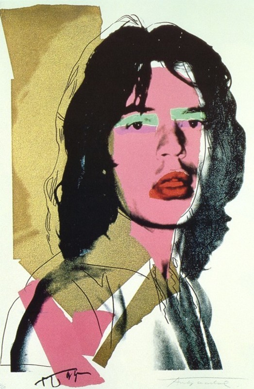 Andy WARHOL - Print-Multiple - Mick Jagger