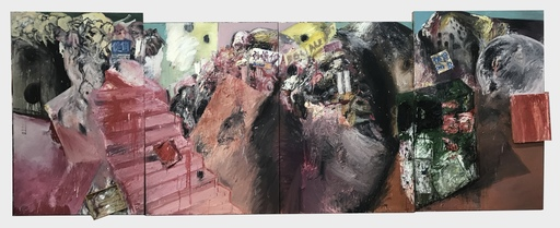 LI Yawei - Pittura - The Project Of Landscape : Implantation Of The Supermarket