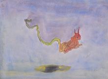 Francisco TOLEDO - Dibujo Acuarela - Untitled (Fox)