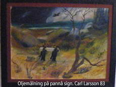 Carl Olof LARSSON - Painting - The funeral procession (Den sista färden in Swedish)