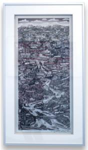 Charles FAZZINO - Druckgrafik-Multiple - Along The Rhine River