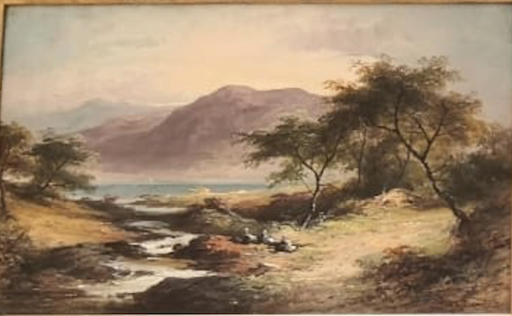 Horace HAMMOND - Painting - Summer in North Wales