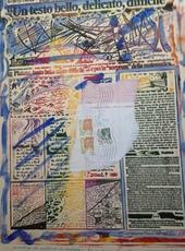 Massimo PETRUCCI - Painting - LA REPUBBLICA