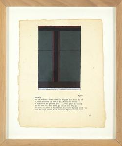 Jean-Pierre PINCEMIN - Pittura - Sans titre (C75)