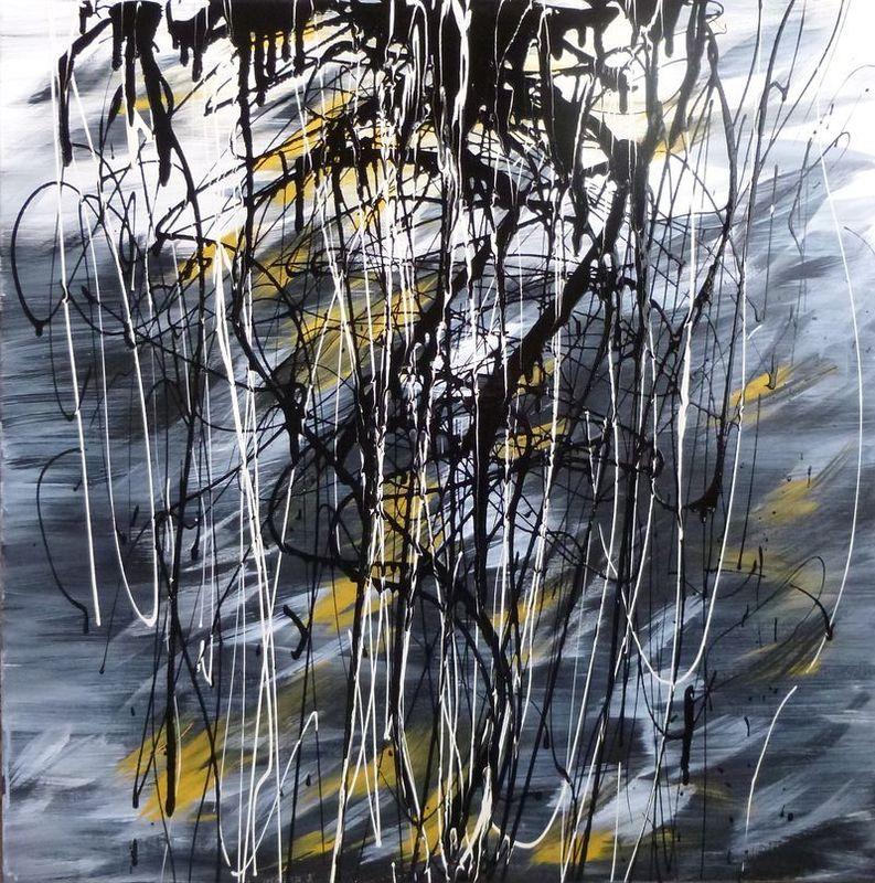 Marie Edmée SEGUIN - Painting - Foret vierge II