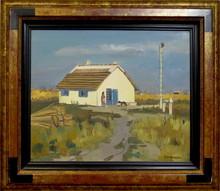 Yves BRAYER - Painting - La cabane du peintre