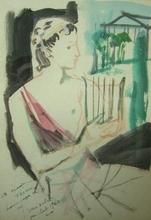 Emilio GRAU-SALA - Drawing-Watercolor - Orphee