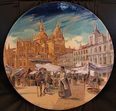 Daniel ZULOAGA BONETA - Cerámica - Vista de Segovia