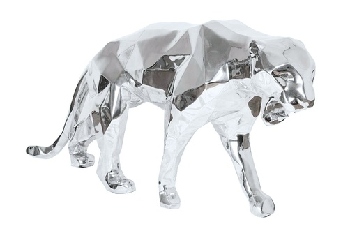 Richard ORLINSKI - Escultura - WILD PANTHER ALUMINIUM