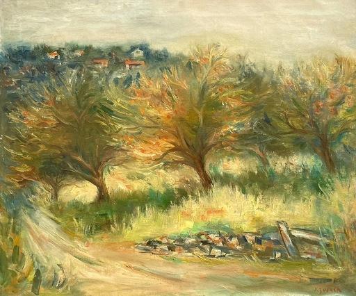 Jacques ZUCKER - Gemälde - Untitled Landscape