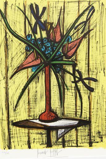 Bernard BUFFET - Print-Multiple - Anthuriums et iris