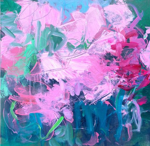 Michelle MARRA - Painting - Bloom Bomb III