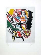 Karel APPEL - Print-Multiple - El Amigo del hombre KA 2