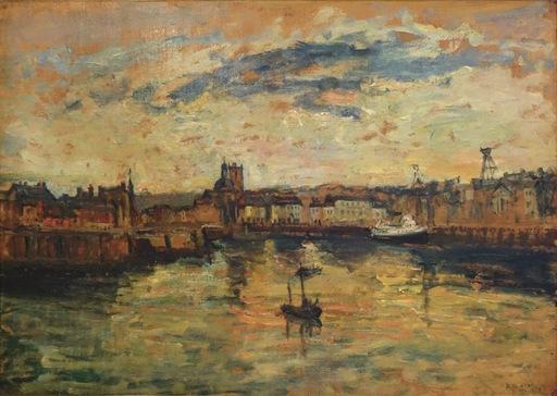 Arbit BLATAS - Painting - Dieppe