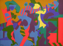 Philippe ARTIAS - Painting - Composition