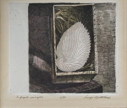 Luigi BARTOLINI - Estampe-Multiple - La fragile conchiglia