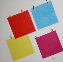 Aldo MONDINO - Pintura - Art Collage