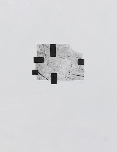 Eduardo CHILLIDA - Estampe-Multiple - Saturn