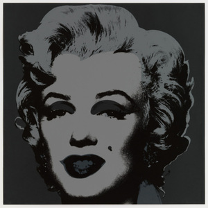 Andy WARHOL, Marilyn Monroe 1967 in Black / Bluegrass Edition