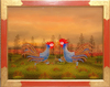 Manfred HORN - Painting - Streithähne