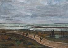 Louis Robert ANTRAL - Pintura - L'ile de Sein