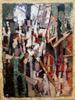 Levan URUSHADZE - Peinture - Megalopolis