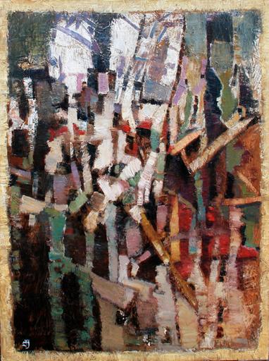 Levan URUSHADZE - Painting - Megalopolis