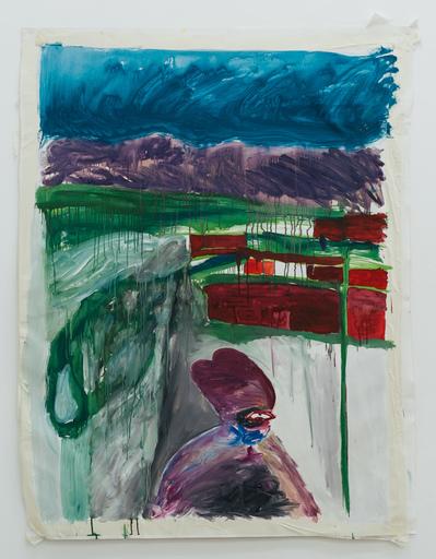 Zhenya MUZALEVSKY - Painting - Anxiously