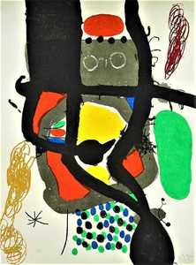 Joan MIRO - Print-Multiple - Le Caissier