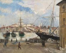 Charles CAMOIN - Painting - Le port de Marseille