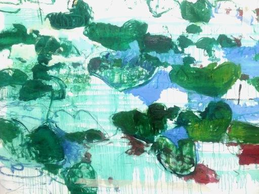 Giovanni FRANGI - Pintura - Alles ist blat