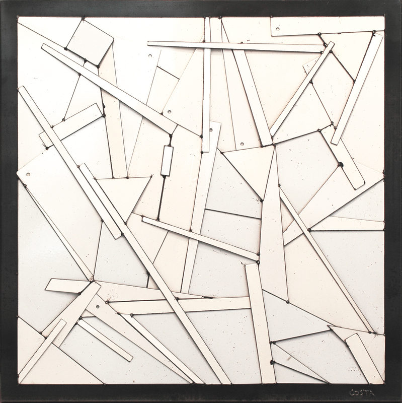 Fernando DA COSTA - Sculpture-Volume - Blanche