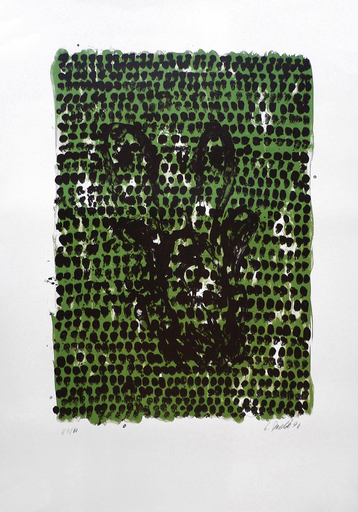 乔治•巴塞利茨 - 版画 - GRUNES TUCH