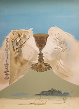 Salvador DALI (1904-1989) - The Chalice of Love
