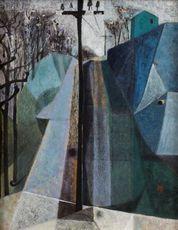 Hisao DOMOTO - Drawing-Watercolor - Landscape