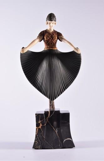 Dimitri CHIPARUS - Sculpture-Volume - Actress