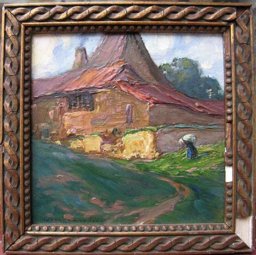 Jean HUBERT-GAUTIER - Pintura - PETIT PAYSAGE BRETON