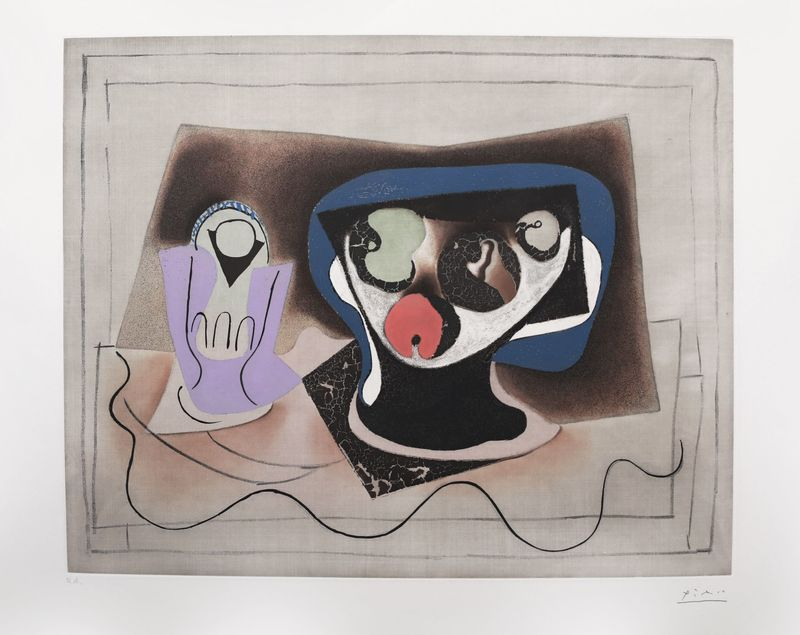Pablo PICASSO Nature morte a l\'absinthe, artwork on the Marketplace ...